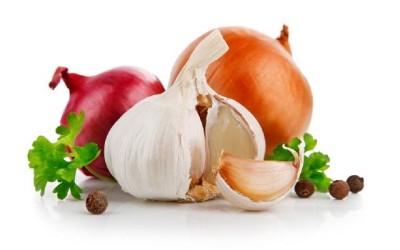 Cipolle, cavoli e aglio